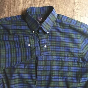 Stafford Travel easy care shirt size 16 1/2, 36-37